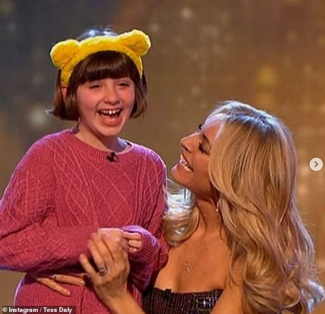 Star-studded: Tess joined the Children In Need team in 2008 when she hosted alongside Terry and Fearne Cotton, and since 2016 has appeared alongside a slew of different stars