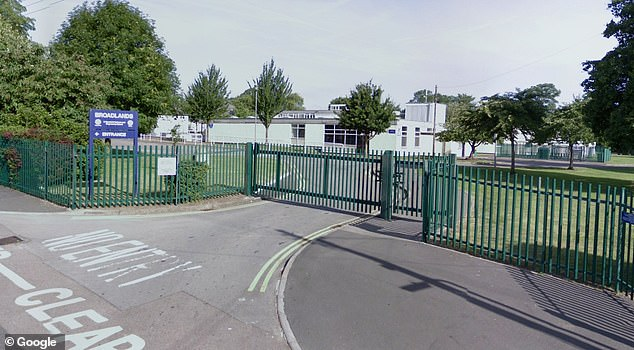 The new headteacher of the Broadlands Academy defended the school's policy