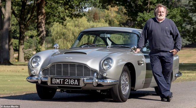 Daily Mail's Ray Massey had the chance to live-out his childhood dream of becoming James Bond for the day