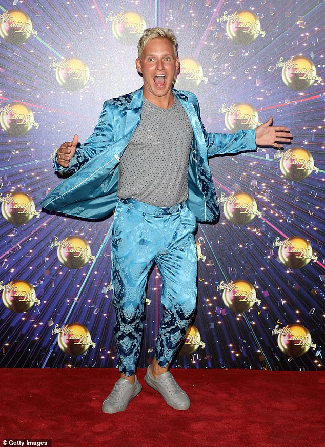 Hold off:According to The Mirror , the dancing show will premiere on Saturday 24th October, far later than the typical September launch (pictured: contestant Jamie Laing)