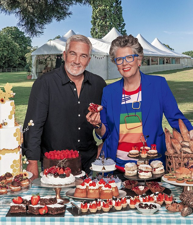 Paul Hollywood, 54, and Prue Leith, 80, (pictured) revealed what viewers can expect from the new series of The Great British Bake Off as it returns to screens this month