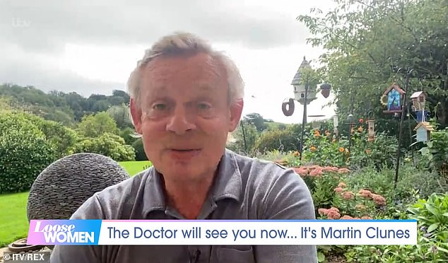 Interview:The actor, 58, appeared on Loose Women via video link on Tuesday, after it was announced Doc Martin would end after 17 years