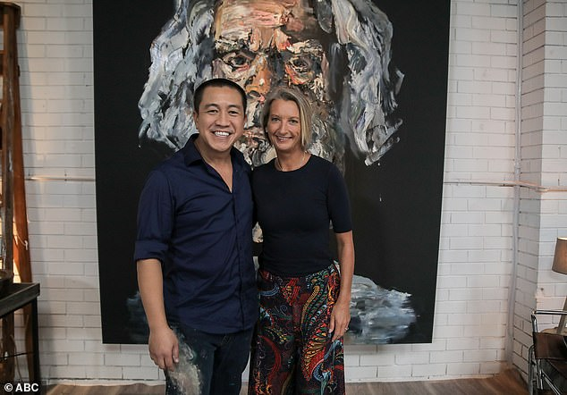 Appearing on ABC's Anh's Brush With Fame on Tuesday night, Layne Beachley said hearing the news just a year after she lost her adoptive mother made her feel 'worthless'