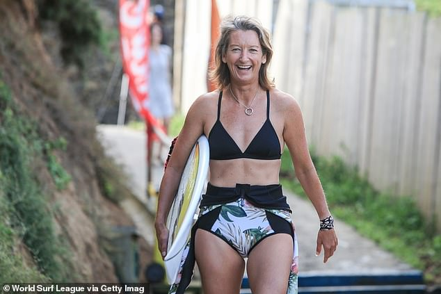 After winning six consecutive world titles - and earning the title of the world's greatest surfer - a friend questioned if Beachley's adoption drove her