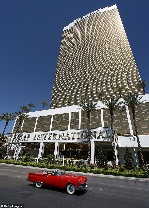 The Trump International Hotel Las Vegas is down an estimated $10 million, according for Forbes. The president owns a 50 per cent stake in certain condo-hotel units in the property located steps away from the city's famous strip