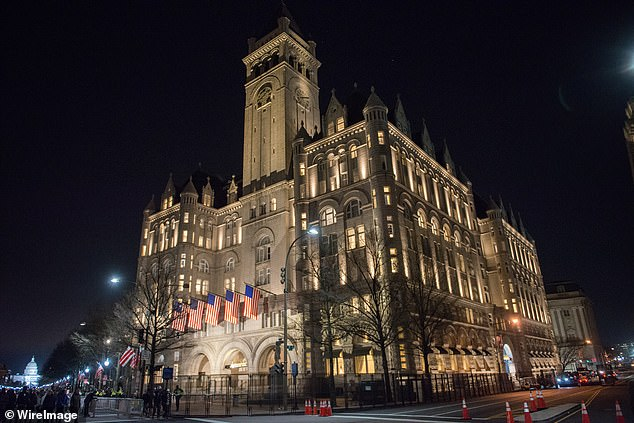 The Trump International Hotel Washington, D.C. is 'underwater' because of all the debt owed on the property, which the president's family leases from the federal government. It's worth, according to Forbes, a negative $2 million and is down from last year $66 million