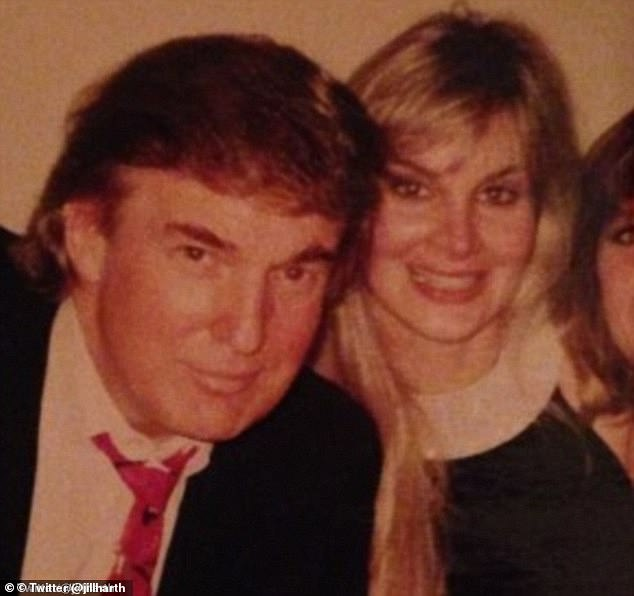 When allegations emerged in 2016 that Trump had sexually assaulted makeup artist Jill Harth (pictured) back in 1993, Cohen claims Trump wasn¿t bothered about Melania's reaction