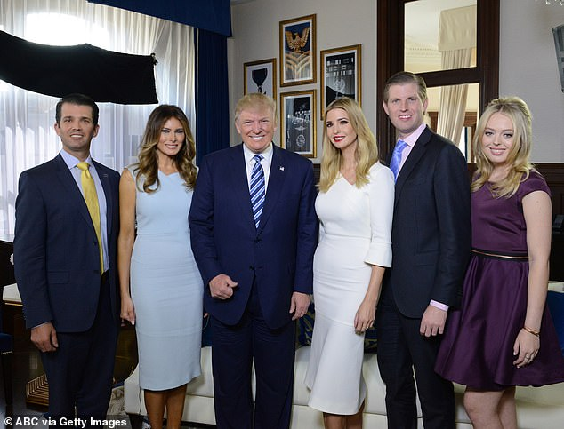 One time Tiffany wanted Trump to call Anna Wintour to ask for an internship at Vogue, the magazine she edited. Cohen writes that Trump said to Ivanka: ¿I don¿t think Tiffany has the look. She just doesn¿t have what you have, honey¿. Ivanka replied: ¿I agree, daddy. She just doesn¿t have the look is the right way to say it, daddy¿
