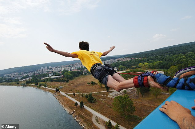Those under the influence of the acetaminophen rated activities like bungee jumping or starting a new career in your mid-30s as less risky than those who took the placebo.