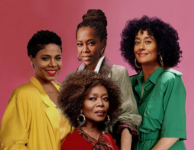 The Golden Girls is being revived with an all-black cast that features (clockwise from top) Regina King, Tracee Ellis Ross, Alfre Woodard and Sanaa Lathan