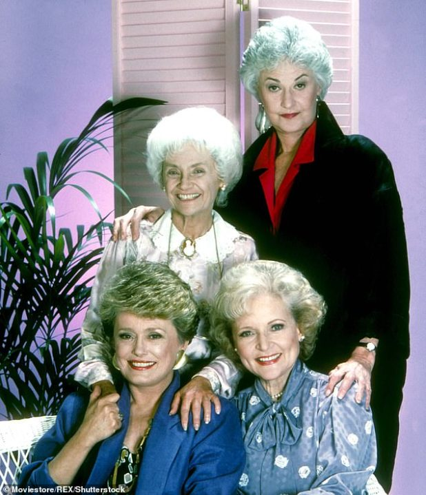 The original sitcom - which ran for seven seasons between 1985 and 1992 - revolves around the lives of four white women living together in Miami