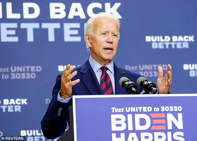 Trump attacked rival Joe Biden multiple times during his remarks in Florida during the tax-payer funded event