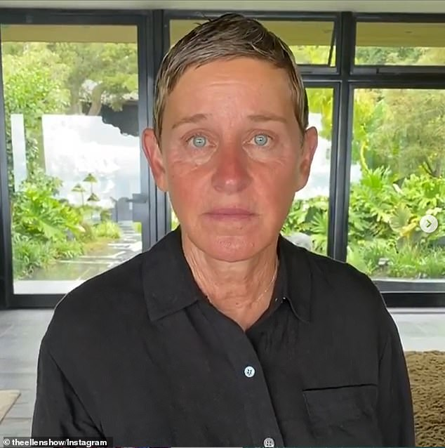 2020 has been rough: Ellen had been doing her show from the comfort of her million dollar home before the workplace scandal broke out