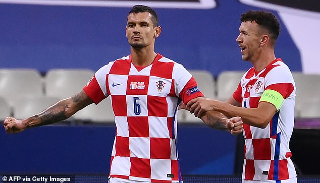Dejan Lovren scored a stunning goal to give the visitors the lead after 16 minutes
