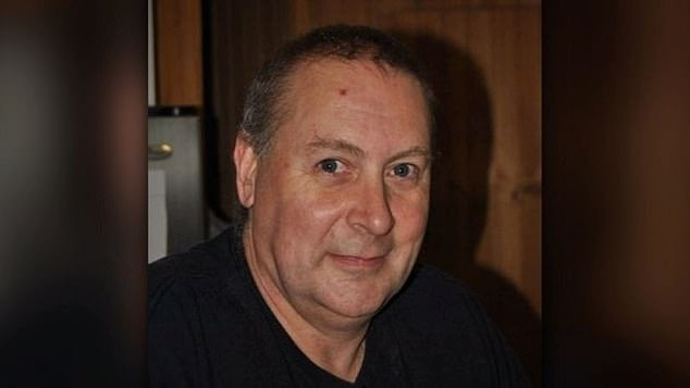 Father and former broadcast operator Dave Whitney (pictured), 59, was mauled to death by his own Rottweiler after an argument with his 36-year-old roommateBrody Gardner