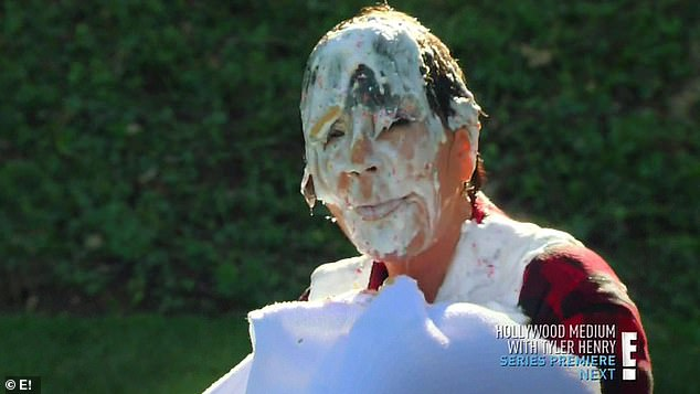 Pied: In season 11, Khloe and Kourtney hatched a plan to get their momager Kris engaged in a food fight. The row ended when Khloe got her mom in the face with a cream pie