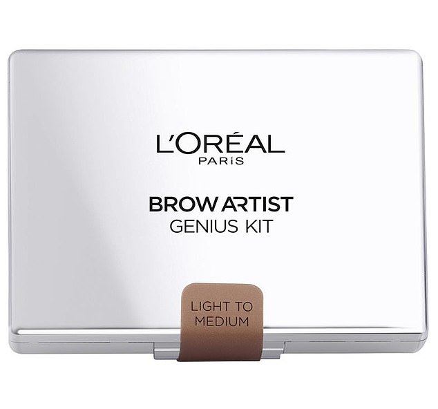 L'Oreal Paris' Brow Artist Genius Kit, which has a recommended retail price of $24.95, is now $3 (pictured)