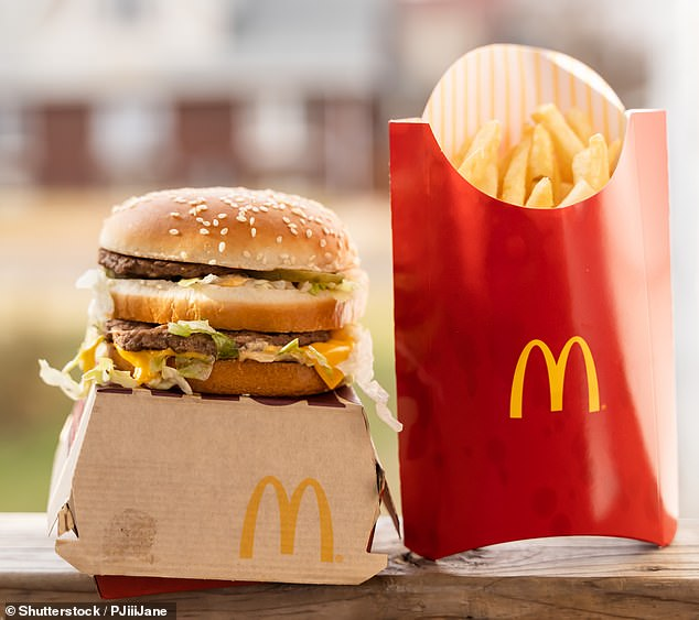 For two months, the delicious McDonald's-inspired dish is being served up at Estate restaurant in Sydney's Coogee by head chef Matthew Butcher (stock image)