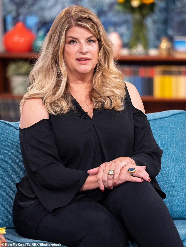 Hitting out: Kirstie Alley has hit out at the Academy Awards after they announced that movies will have to meet strict new diversity targets to be eligible to win from 2024 (pictured in 2018)