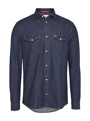 Tommy Jeans TJM Western Denim Shirt (£65) at Very