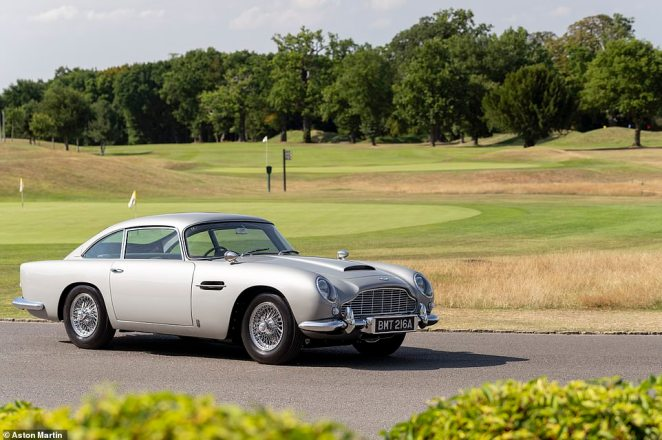 The 25 Aston Martins are not movie or stunt cars, nor are they replicas. Instead, they are genuine continuation production cars of the DB5 – reborn from where it left off some 55 years