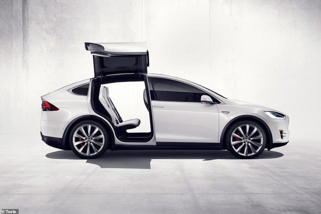 The Tesla Model X Long Range offers up to 314-miles of range on a full charge, says the official figures. However, in the real world this distance is substantially shorted, which could partly be due to these huge - and weighty - 'Falcon-Wing' doors