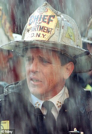 Chief Peter J. Ganci Jr, the highest-ranking member of the department to die in the line of duty when he perished responding to the terror attacks of September 11, 2001