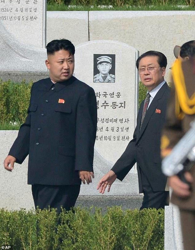He said Kim 'tells me everything' ¿ including what the Post termed a 'graphic account' of having his uncle Jang Song Thaek (r) killed
