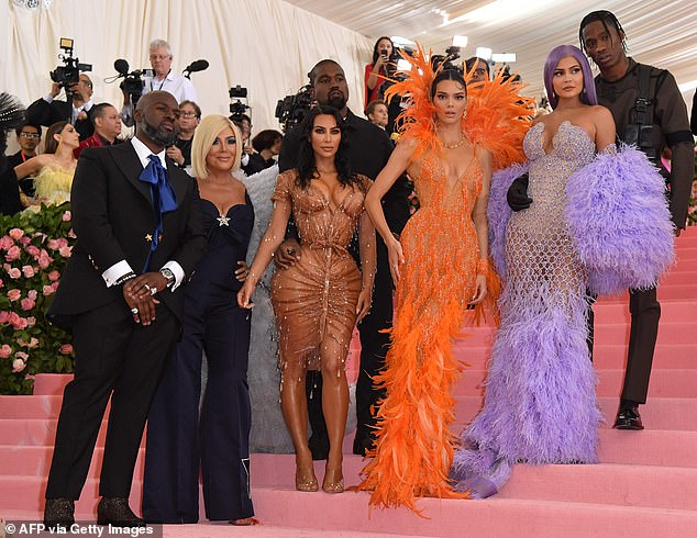 Not that type: 'I can't see her surrendering that power,' the 52-year-old father-of-one dished. Kris and the family are seen at the 2019 Met Gala above