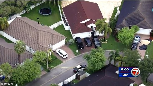 Shooting took place in the Oakridge Gated community in Hollywood, Florida
