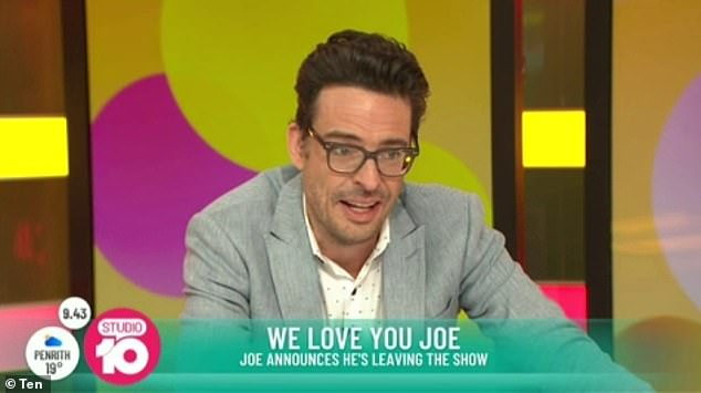 Hanging in the balance: The presenter's position on the morning talk show had been in discussion ever since Channel 10 announced their shocking budget cuts last month