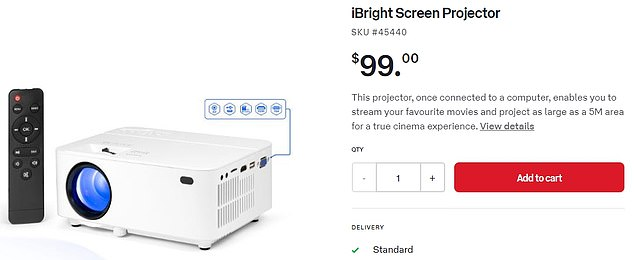 'Thank you to whoever posted about the $99 iBright Screen Projectors from the post office,' one woman wrote on Facebook