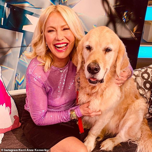 Boned: TV veteran Kerri-Anne Kennerley is arguably the biggest name to be axed as part of Channel 10's cost-cutting measures