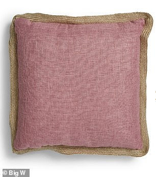 Customers may wish to consider transforming their whole bedroom with the new $10 cushions