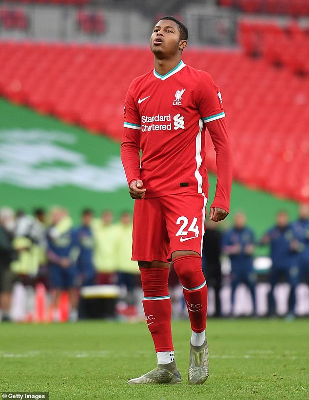 Liverpool and Brewster are in no rush to make any decision on the striker's future just yet