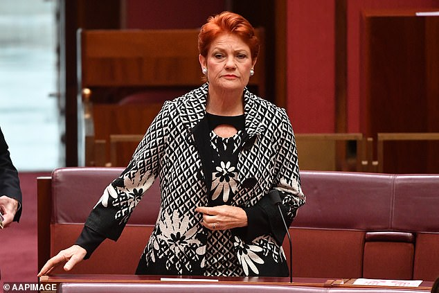 Australia Post has become embroiled in a scandal after pushing for Pauline Hanson's One Nation-branded stubby holders to be delivered to residents in a locked-down public housing tower