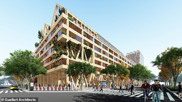 The neighbourhood is designed to let residents live more comfortably in case of lockdowns
