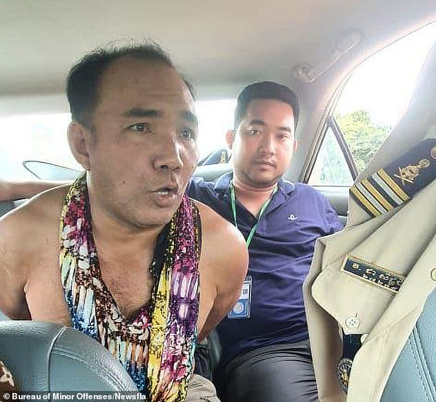 An arrest warrant was issued on 8th April this year, and Pha (pictured left) was initially charged with attempted murder by the Takeo Provincial Court on April 18