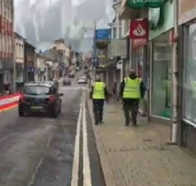 The new marshals work alongside Cornwall Council's public protection officers who have been giving support and advice to businesses on reopening safely in towns and villages across Cornwall
