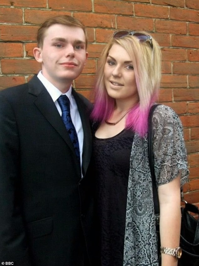 Jay was a sixth form student at Bitterne Park School in the city studying English Literature, Film Studies and Geography and hoped to study history at university. Pictured, with Camellia