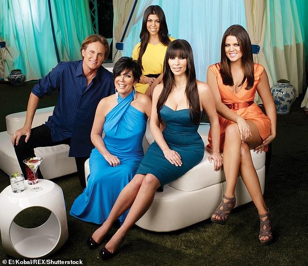 A look back: Kourtney, Bruce Jenner (now Caitlyn), Kris Jenner, Kourtney, Khloe on Keeping Up With The Kardashians 2007