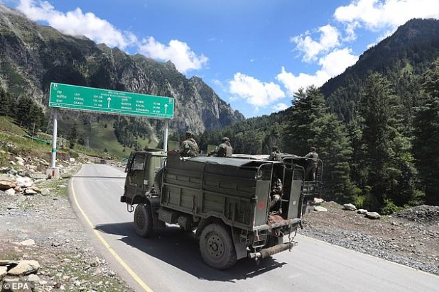 The LAC, fighting the Ladakh region of India's eastern state of Arunachal Pradesh, isolating the Chinese and Indian occupied territories, fought fiercely, which China fully claims