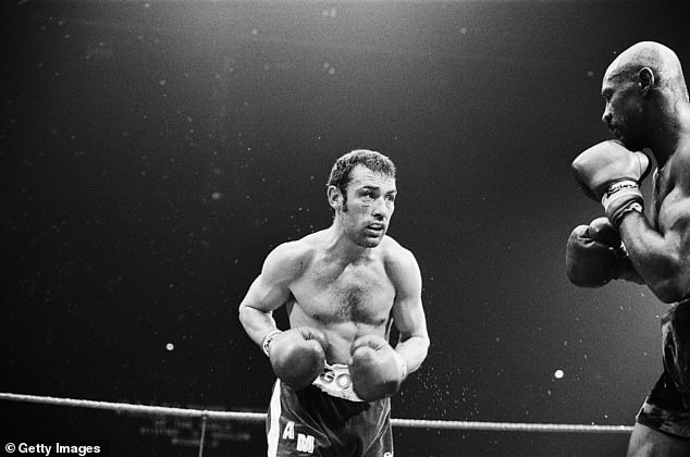 One memorable fight was a defeat by Marvin Hagler which led to a riot at Wembley Arena