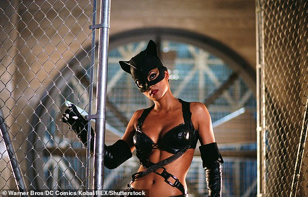 Soon after:After her win, the star went on to get slaughtered by critics for appearing in the badly-received superhero film Catwoman in 2004 (pictured)