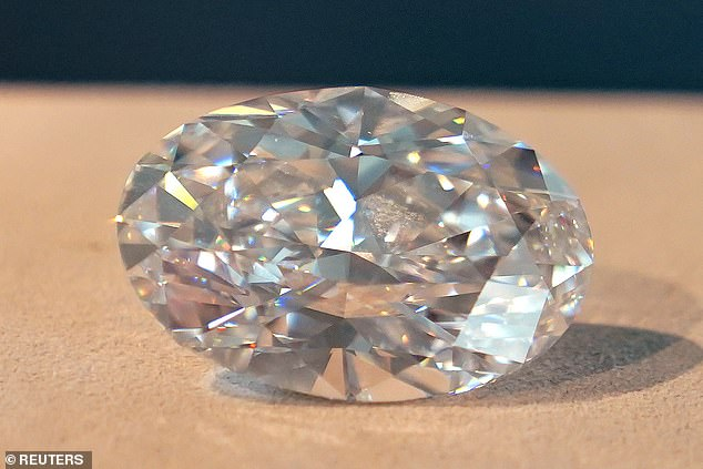 The world record for any diamond or jewel sold at auction was set in 2017 when a 59.60-carat fancy vivid pink diamond was sold for $71.2 million to a Hong Kong jewelry company