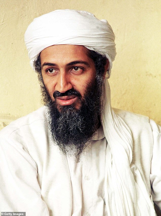 Osama bin Laden (pictured), the leader of the terrorist group al-Qaeda, was killed during Operation Nepture Speae on May 2 2011 in Abbottabad, Pakistan