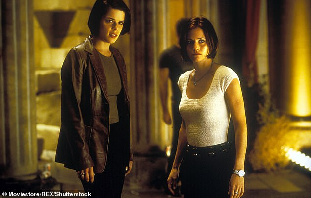 Scream Queens: Neve and Courtney pictured in Scream 2