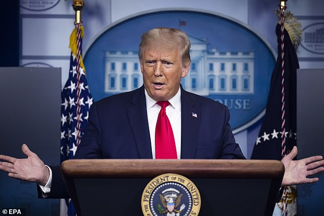 President Trump defended his handling of the COVID pandemic in the wake of details released from Bob Woodward's upcoming book 'Rage'