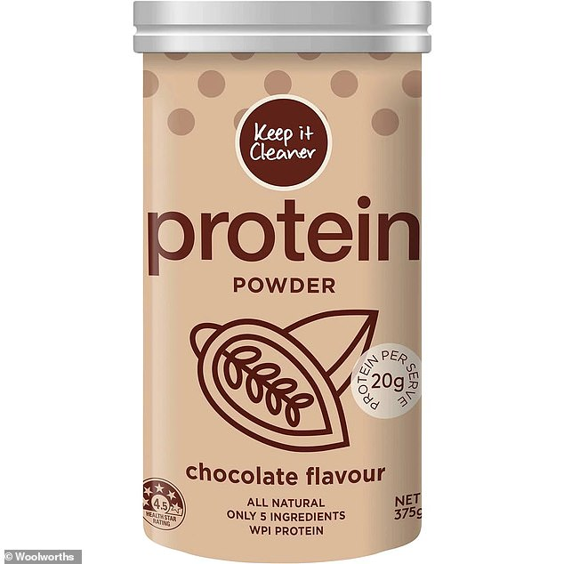 A national recall has been issued forKeep it Cleaner chocolate flavoured 375g protein powder