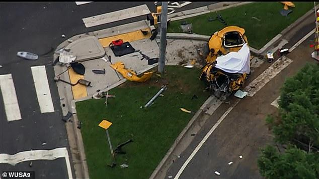 Police are still investigating the collision